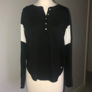 Hollister Oversized Black Long Sleeve